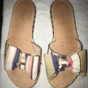 Kate spade idalah bow espadrille sandal 7.5
